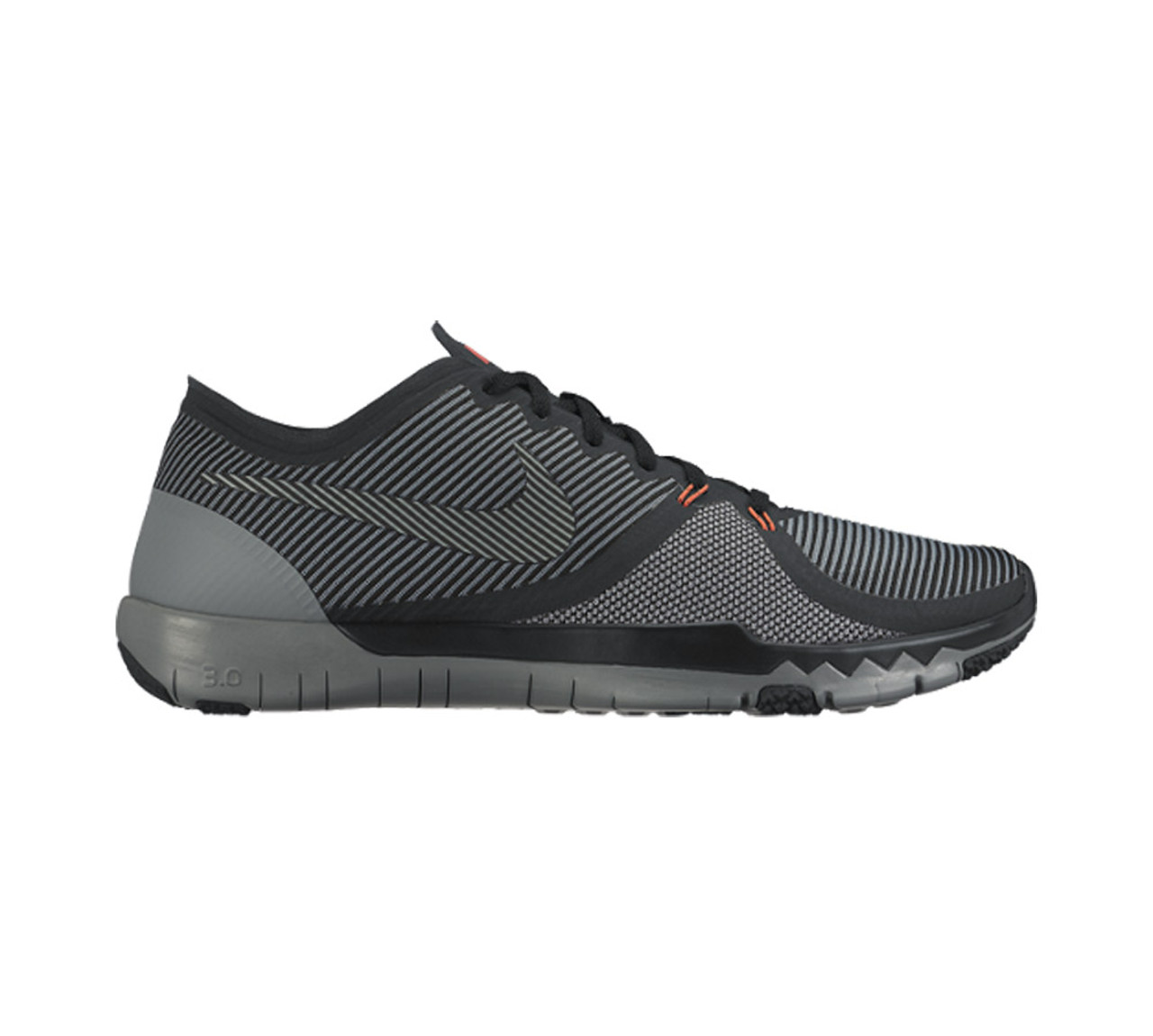 big sale 3e1b6 232e2 Nike Men's Free Trainer 3.0 V4 Cross Trainer Black/Grey