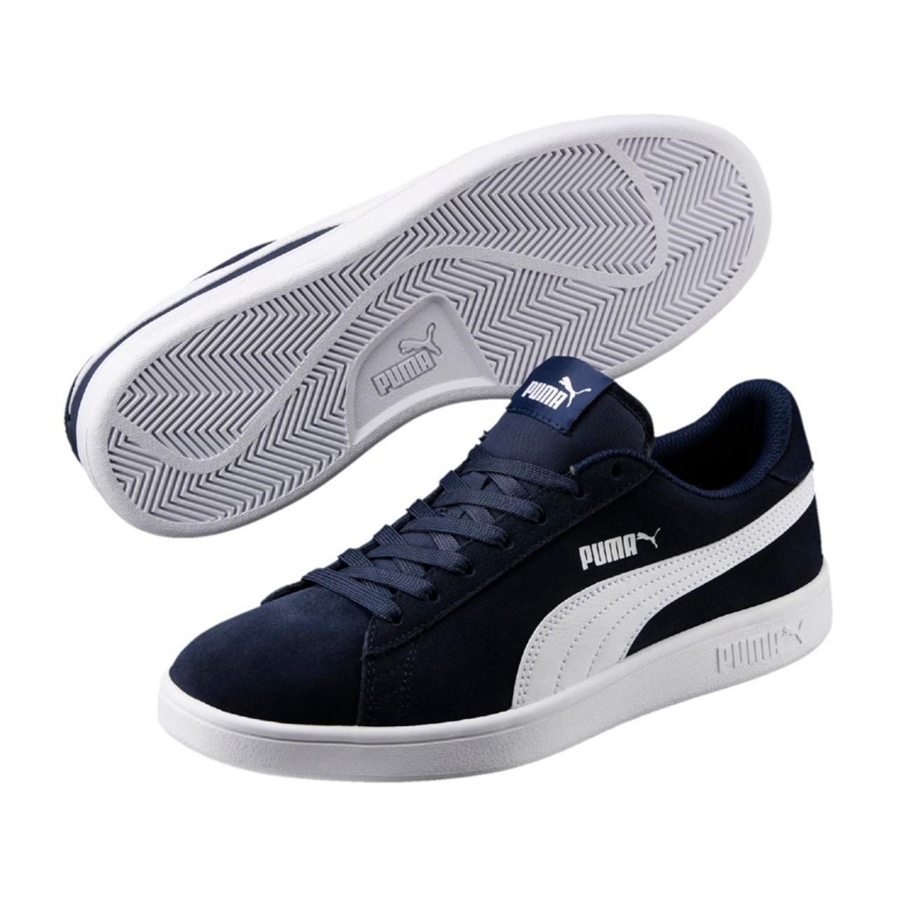 Puma Men's Puma Smash V2 Sneaker Peacoat/White