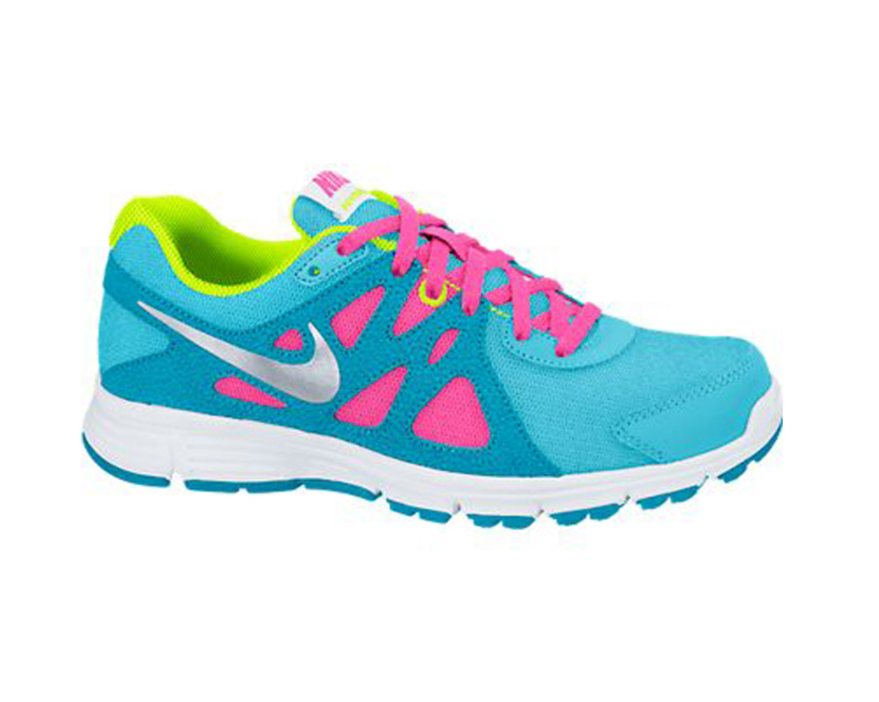 0f706d7633fc Nike Girl s Revolution 2 Athletic Shoe Clearwater Blue Lagoon - Shop now    Shoolu.