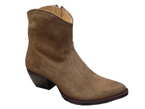 fe4f0a1347d FRYE Women's Wyatt Harness Short Boot - Brown | Discount FRYE Ladies ...