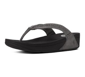 f36a35b8928151 Fitflop Women s Swirl Flip Flop - Black