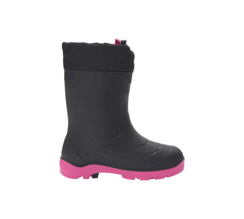 Kamik Youth Snobuster 1 Winter Boot Black/Magenta - Shop now @ Shoolu.com