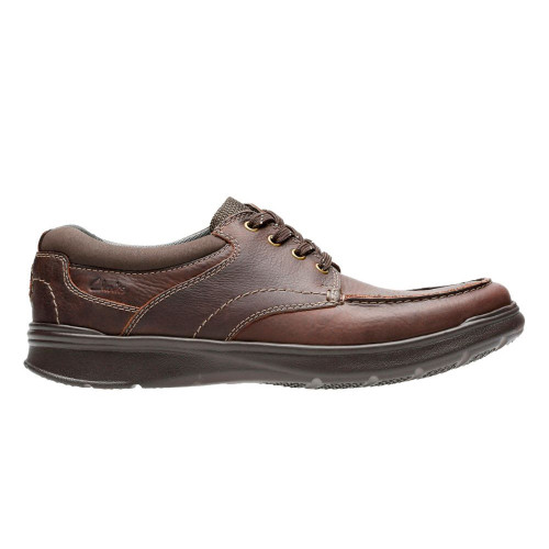 Clarks Men's Cotrell Edge Casual Oxford Brown Oily - Shop now @ Shoolu.com