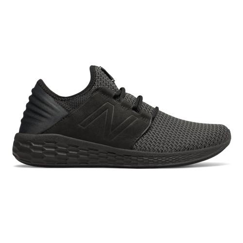 New Balance Men's MCRUZNB2 Running Shoe Black/Magnet - Shop now @ Shoolu.com