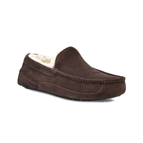 UGG Men's Ascot Slipper Espresso Suede - Shop now @ Shoolu.com