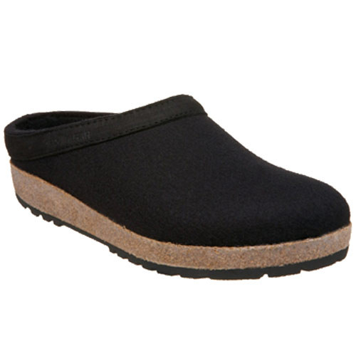 Haflinger Grizzly With Leather Black - Shop now @ Shoolu.com