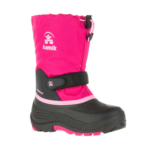 Kamik Kid's Waterbug 5 Winter Boot Rose - Shop now @ Shoolu.com