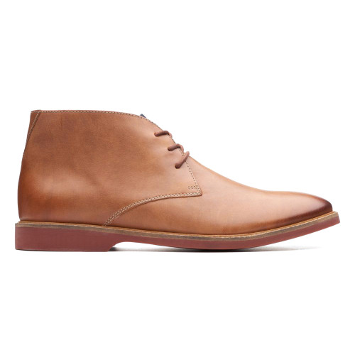 Clarks Men's Atticus Limit Chukka Boot Tan Leather - Shop now @ Shoolu.com