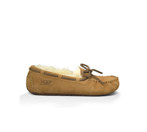 UGG Girls Kids Dakota Slipper Chestnut - Shop now @ Shoolu.com