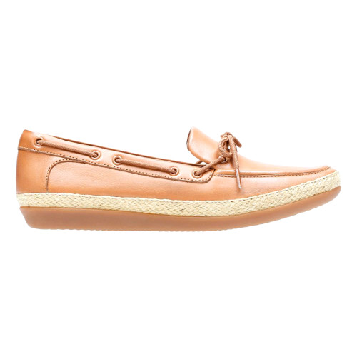 Clarks Women's Danelly Bodie Loafer Light Tan Leather - Shop now @ Shoolu.com