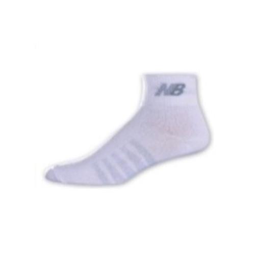 New Balance Men's 2 Pack Technical Elite Coolmax Thin Quarter Socks White - Shop now @ Shoolu.com