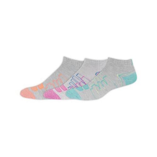 New Balance Women's 3 Pack Performance Low Cut Socks Grey - Shop now @ Shoolu.com