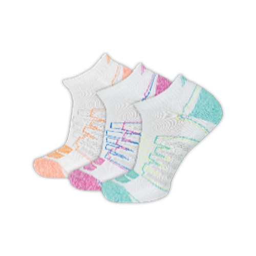 New Balance Women's 3 Pack Performance Low Cut Socks White - Shop now @ Shoolu.com