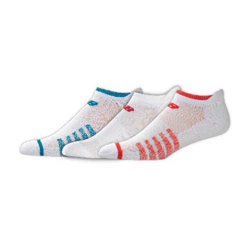 New Balance Women's 3 Pack Low Cut Tab Socks Assortment 1 - Shop now @ Shoolu.com