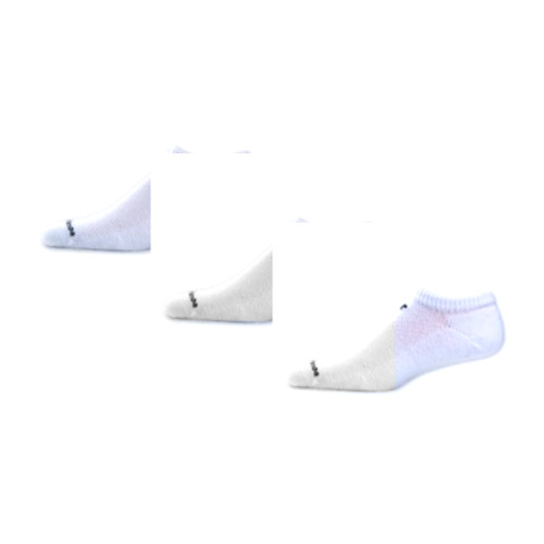 New Balance Unisex 3 Pack Performance Cotton No Show SocksWhite - Shop now @ Shoolu.com