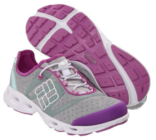 ad794ee5dad7 Columbia Powerdrain Cool Grey Wind Water Shoe Ladies - Shop now   Shoolu.com