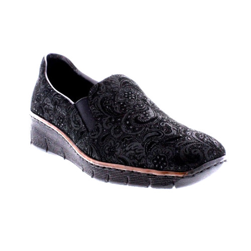 Rieker Women's Doris 66 Mary Jane Black - Shop now @ Shoolu.com