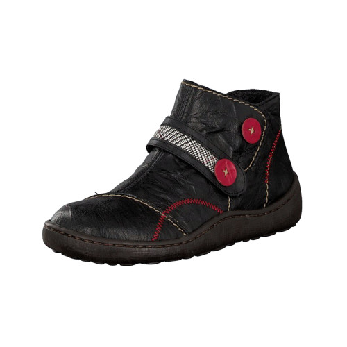 Rieker Women's Simona 94 Boots Black Combination - Shop now @ Shoolu.com