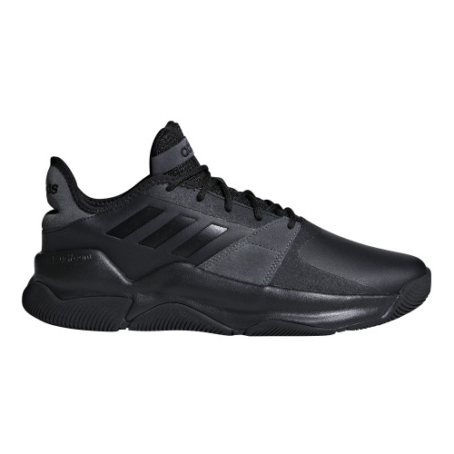 Adidas Men's Streetflow Basketball Shoe Black/Grey - Shop now @ Shoolu.com
