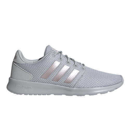 Adidas Women's QT Racer Running Shoe Grey/Grey - Shop now @ Shoolu.com