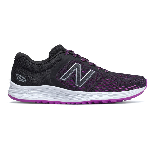 New Balance Women's WARISCP2 Running Shoe Black/Violet - Shop now @ Shoolu.com