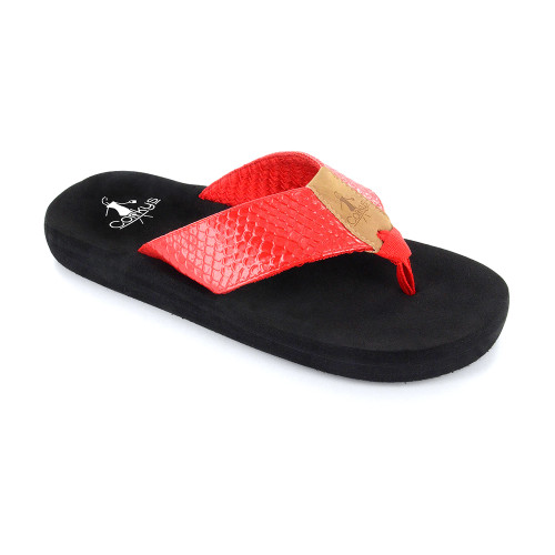 Corkys Women's Royal Flip Flop Red - Shop now @ Shoolu.com
