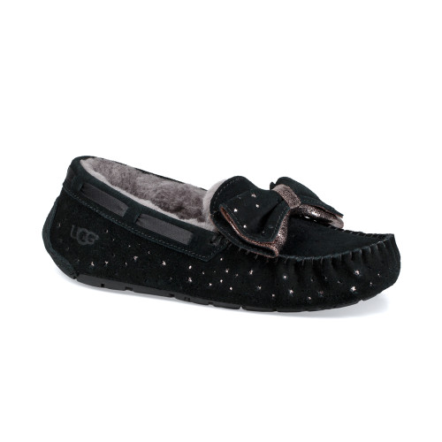 UGG Women's Dakota Stargirl Slipper Black - Shop now @ Shoolu.com