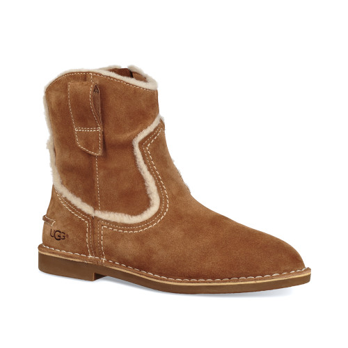 UGG Women's Catica Ankle Boot Chestnut - Shop now @ Shoolu.com