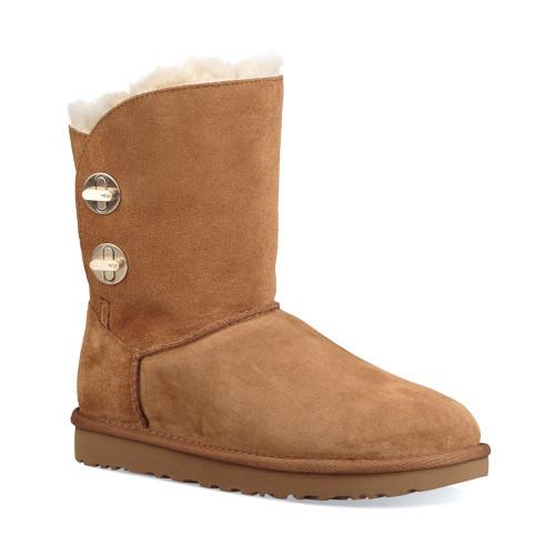UGG Women's Classic Short Turnlock Boot Chestnut - Shop now @ Shoolu.com