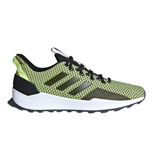 Adidas Men's Questar Trail Running Shoe Black/Hi-Res Yellow - Shop now @ Shoolu.com