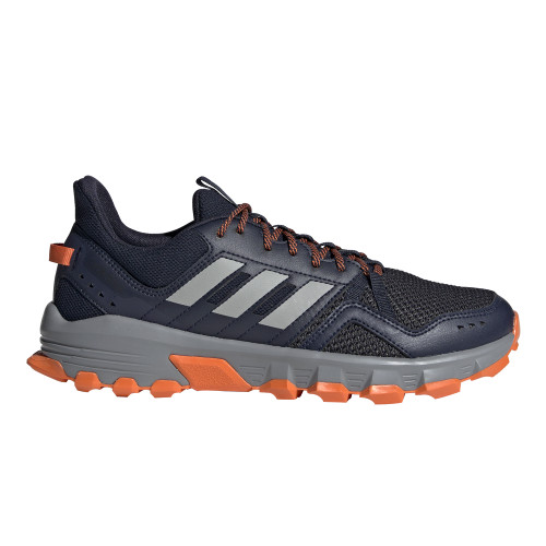 Adidas Men's Rockadia Trail Running Shoe Legend Ink/Orange - Shop now @ Shoolu.com