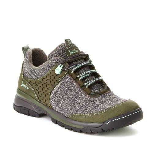 Jambu Women's Zora Sneaker Olive/Charcoal - Shop now @ Shoolu.com