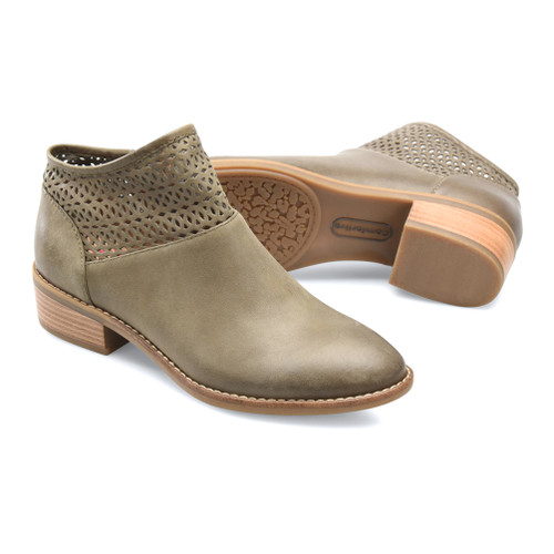 Comfortiva Women's Cailean Bootie Olive - Shop now @ Shoolu.com