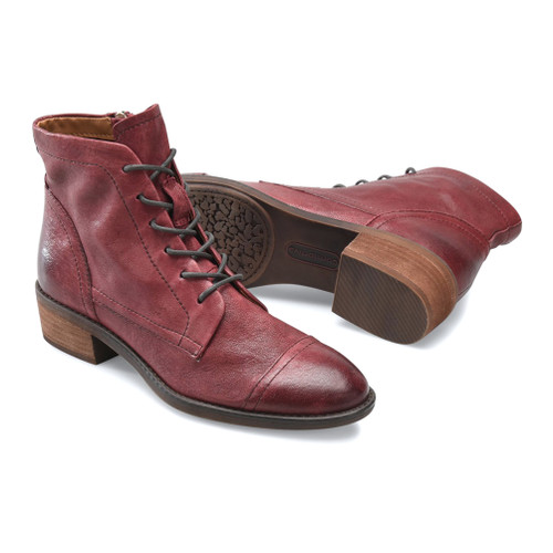 Comfortiva Women's Cordia Ankle Boot Wine - Shop now @ Shoolu.com
