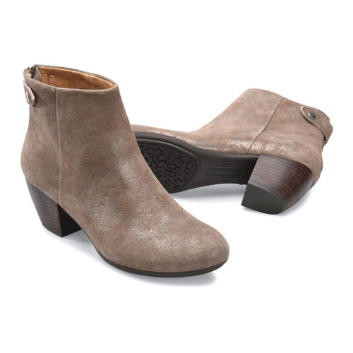 Comfortiva Women's Alandra Ankle Boot Smoke - Shop now @ Shoolu.com