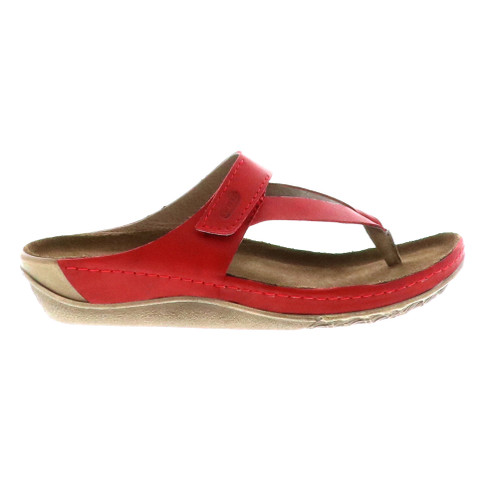 Wolky Women's Drake Sandal Red - Shop now @ Shoolu.com