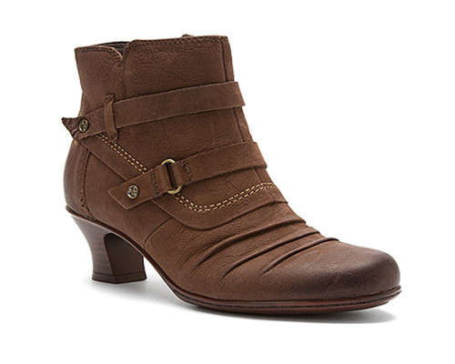 Earth Women's Wayward Bootie Bark Nubuck - Shop now @ Shoolu.com