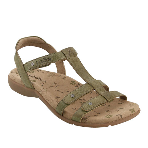 Taos Women's Trophy 2 Strappy Sandal Herb Green - Shop now @ Shoolu.com