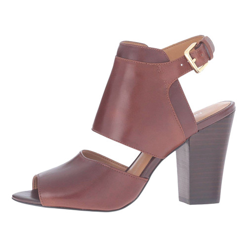 Nine West Women's Only One Heeled Sandal Palissandro/Brown - Shop now @ Shoolu.com