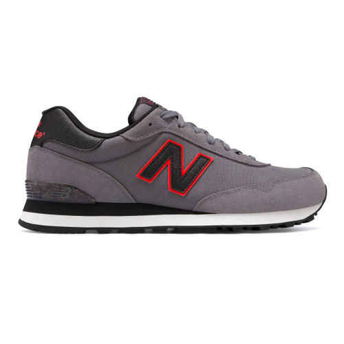 New Balance Men's ML515NBD Sneaker Castlerock/Black - Shop now @ Shoolu.com