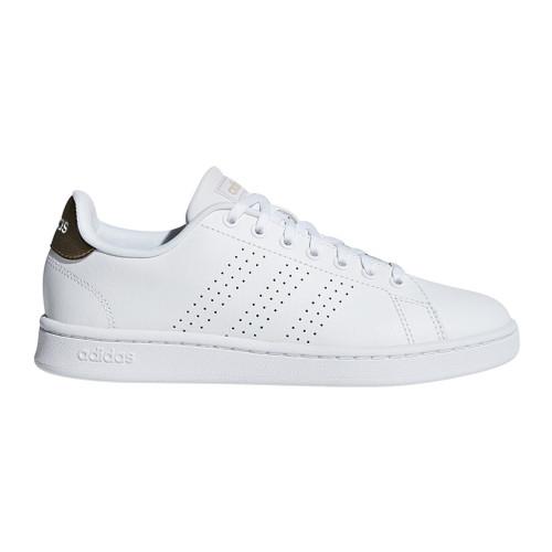 Adidas Women's Advantage Tennis Shoe White/Copper - Shop now @ Shoolu.com