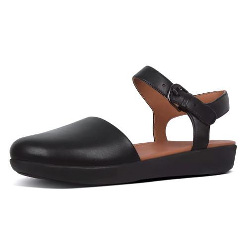 Fitflop Women's Cova II Closed Toe Sandal Black - Shop now @ Shoolu.com