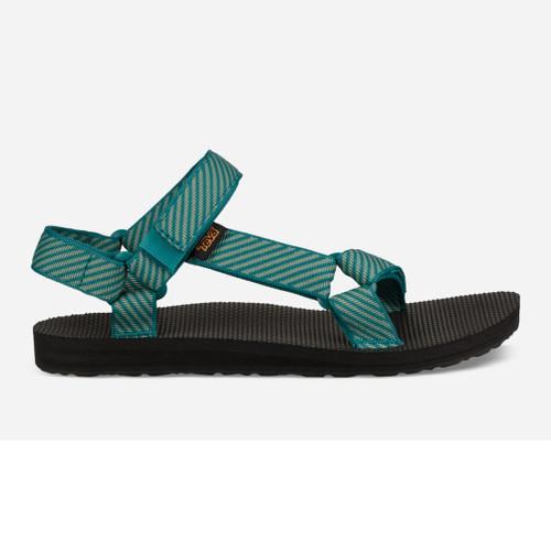 Teva Women's Original Universal Sandal Candy Stripe Deep Lake - Shop now @ Shoolu.com