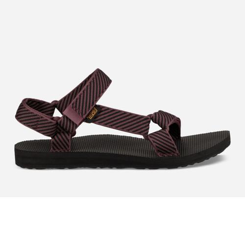 Teva Women's Original Universal Sandal Candy Stripe Vineyard Wine - Shop now @ Shoolu.com