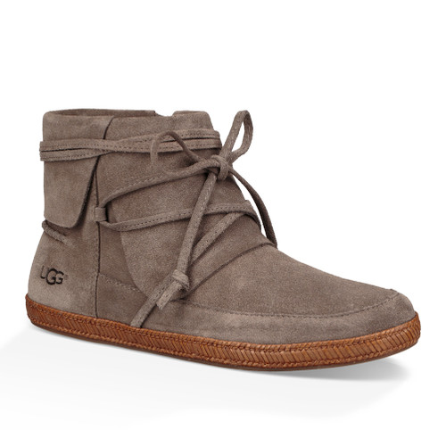 UGG Women's Reid Moc Bootie Slate - Shop now @ Shoolu.com