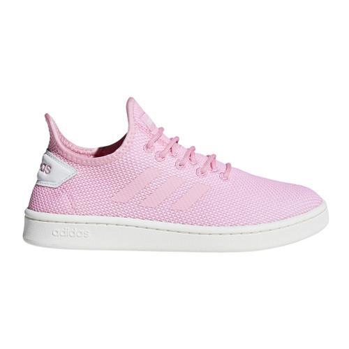 Adidas Women's Court Adapt Tennis Sneaker True Pink/White - Shop now @ Shoolu.com