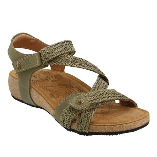 Taos Women's Trulie Sandal Herb Green - Shop now @ Shoolu.com