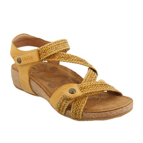Taos Women's Trulie Sandal Golden Yellow - Shop now @ Shoolu.com