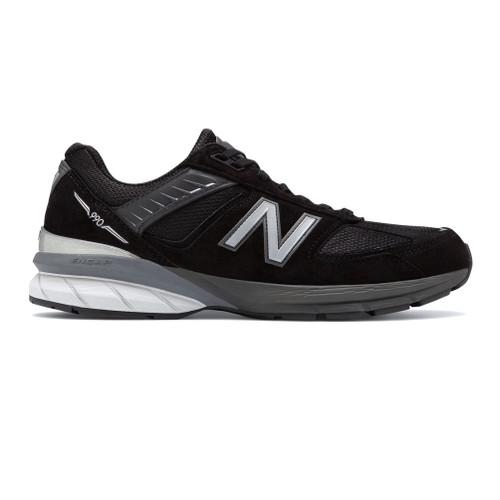 New Balance Men's M990BK5 Running Shoe Black/Silver - Shop now @ Shoolu.com