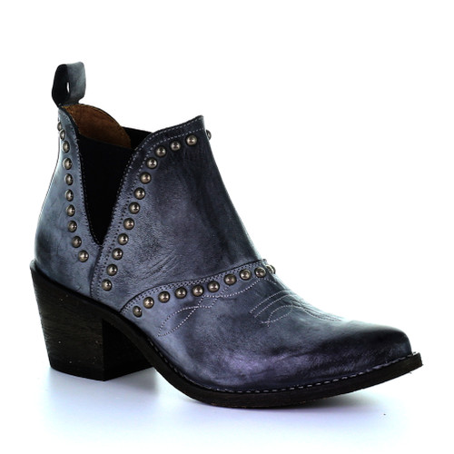 Circle G By Corral Women's LD Studs Bootie Grey - Shop now @ Shoolu.com